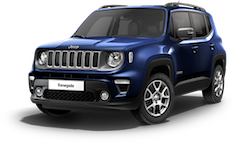 Jeep Renegade Limited - Blue