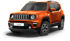 Jeep Renegade Longitude - Orange