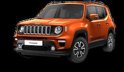 Jeep Renegade Longitude - Orange