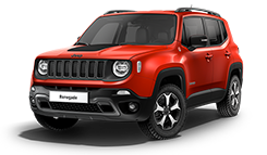 Jeep Renegade Trailhawk - Red